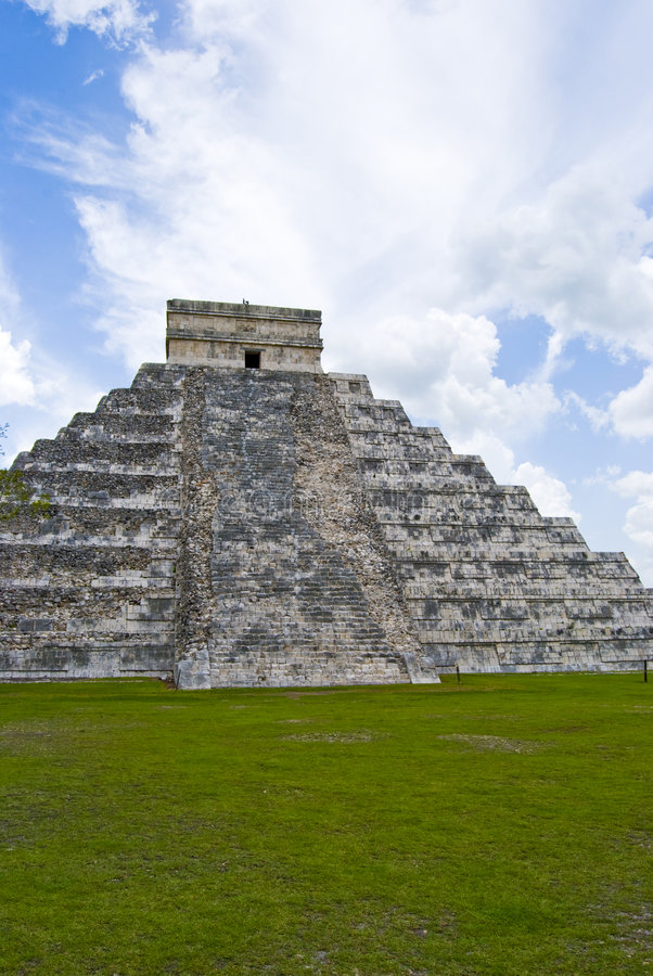 Ruïnes in Mexico royalty-vrije stock afbeelding