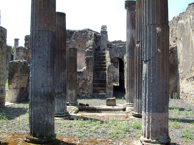 Ruïnes in Rome royalty-vrije stock afbeeldingen
