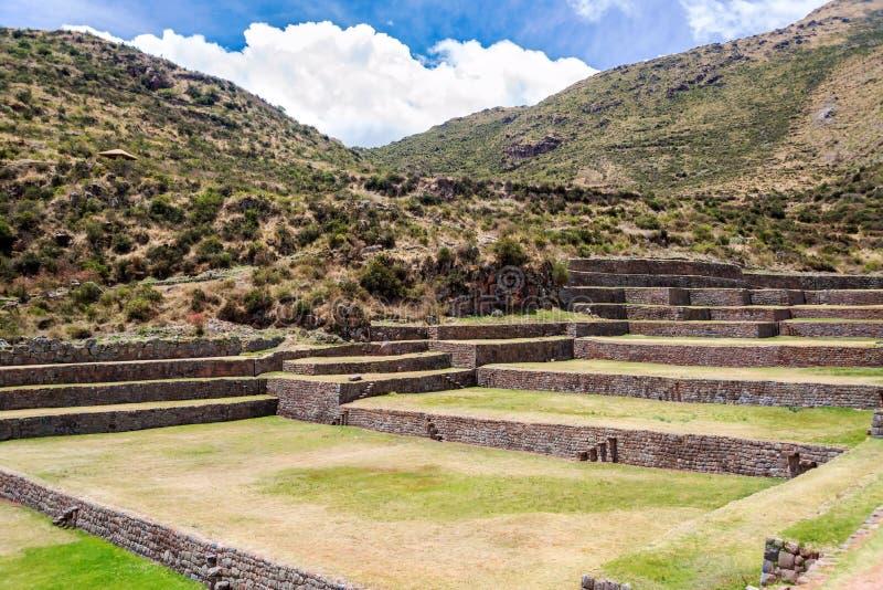 Ruïnes in Tipon royalty-vrije stock foto's
