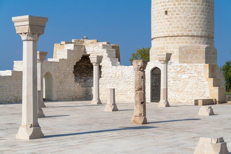 Ruïnes van Bolgar (Oude stad van Bolgar) royalty-vrije stock foto's