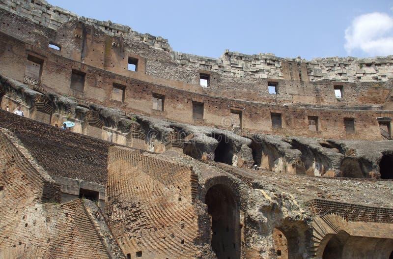 Ruïnes van colosseum royalty-vrije stock foto