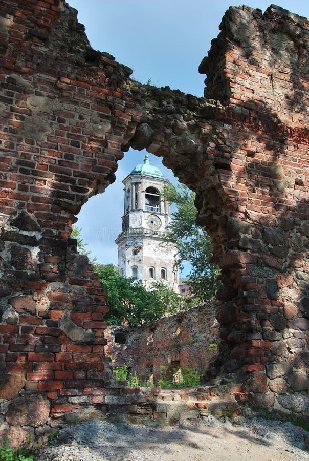 Ruïnes van de kerk royalty-vrije stock foto