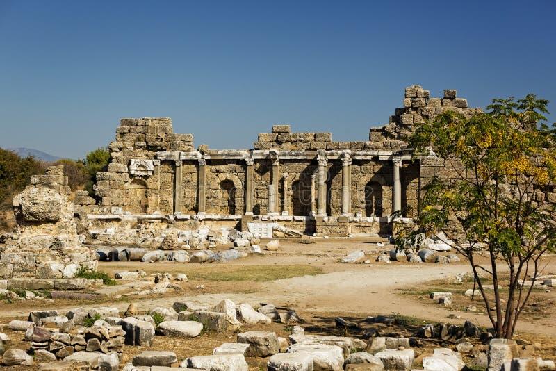 Ruïnes van de oude stad van Kant royalty-vrije stock foto's