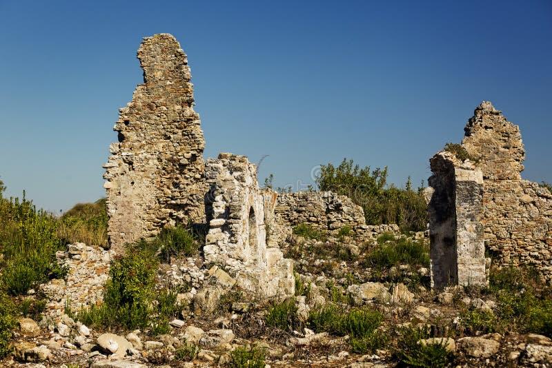 Ruïnes van de oude stad van Kant royalty-vrije stock fotografie