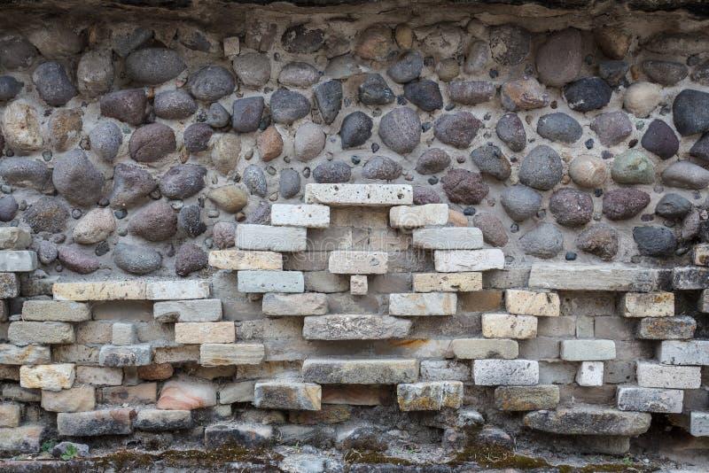 Ruïnes van de pre-Spaanse Zapotec-stad Yagul, Puebla stock afbeeldingen