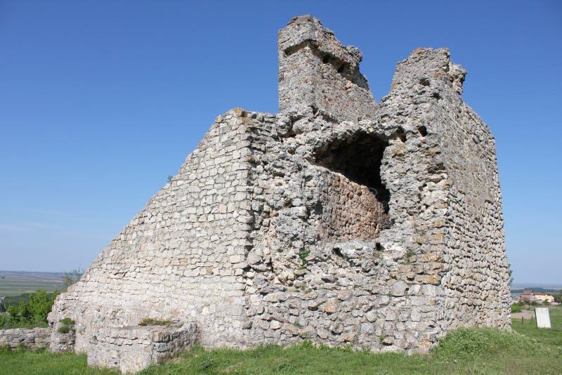 Ruïnes van Kamaka de Steenvesting dichtbij de stad van Oryahovo royalty-vrije stock afbeeldingen