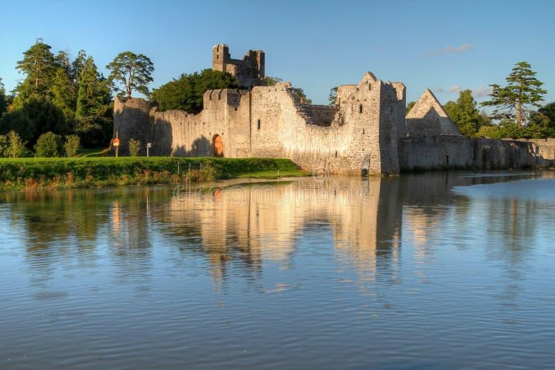 Ruïnes van kasteel in Adare royalty-vrije stock fotografie