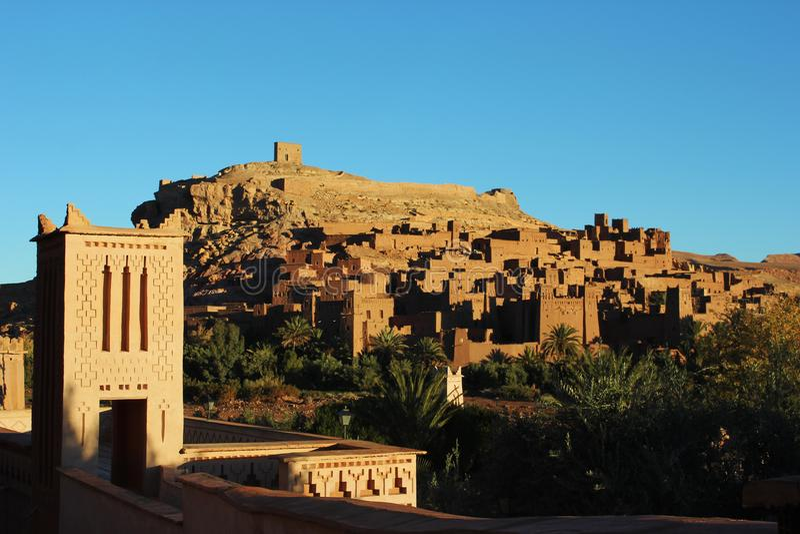 Ruïnes van Morrocco royalty-vrije stock foto's