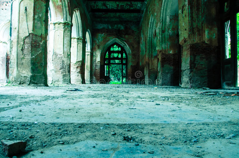 Ruïnes van oude fortpatiala royalty-vrije stock foto's