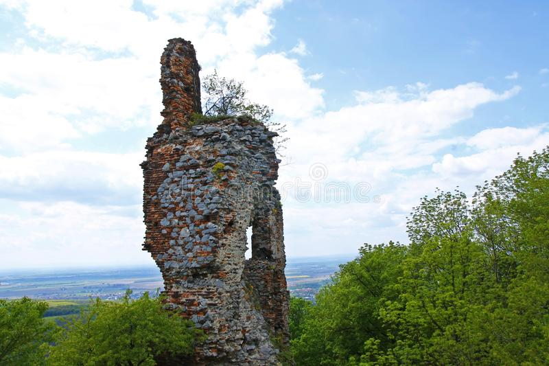 Ruïnes van Pajstun stock afbeelding