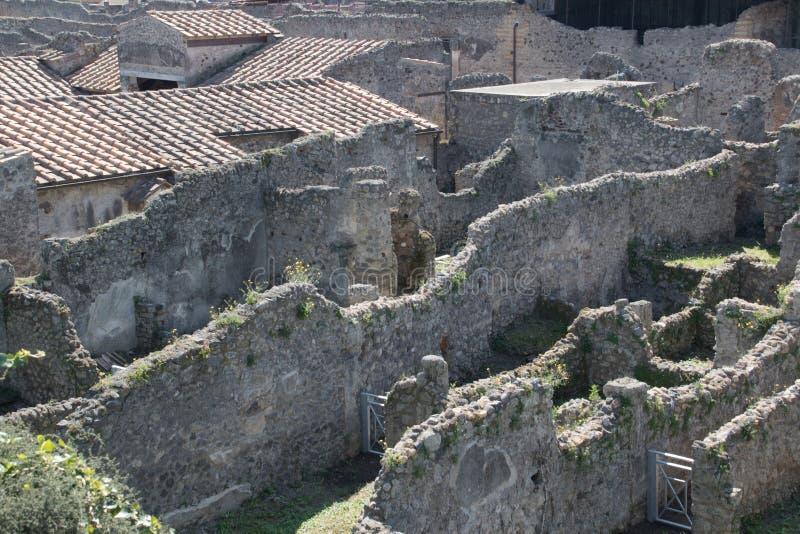 Ruïnes van Pompei royalty-vrije stock afbeelding