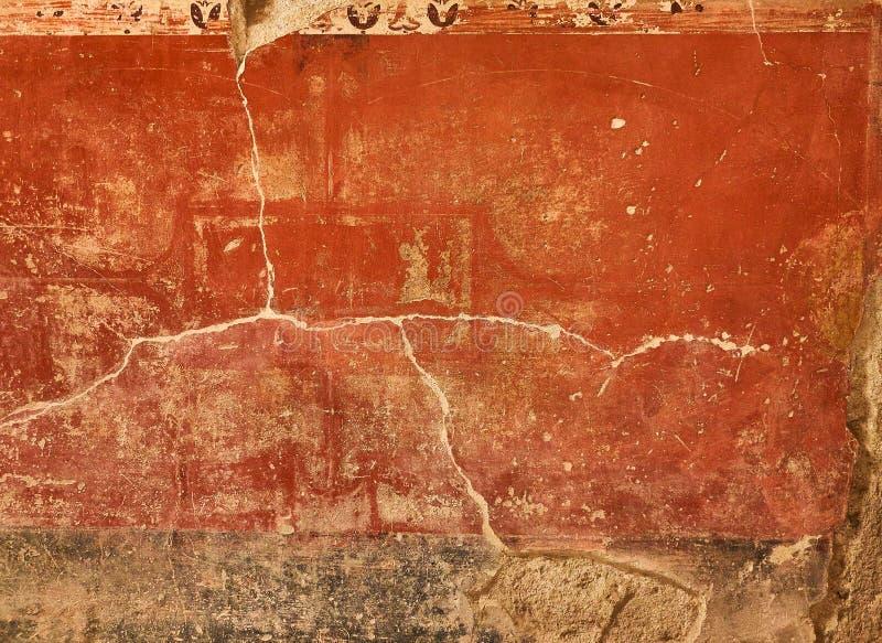 Ruïnes van Pompei, oude Roman stad Pompei, Campania Italië stock fotografie