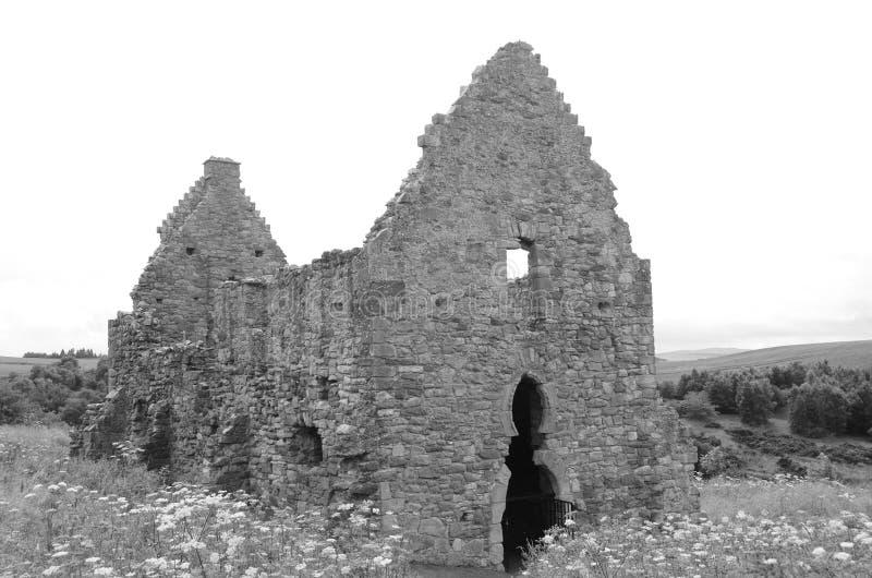 Ruïnes van Stallen royalty-vrije stock afbeeldingen