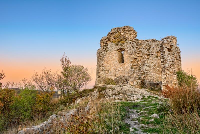 Ruïnes van vina van vestingsäœaä  stock afbeeldingen