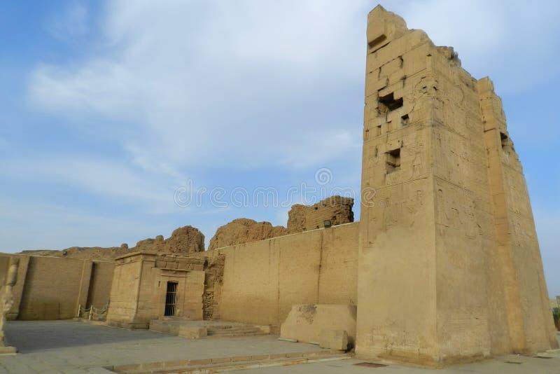 Ru?nas do templo de Kom Ombo, Egito imagem de stock royalty free