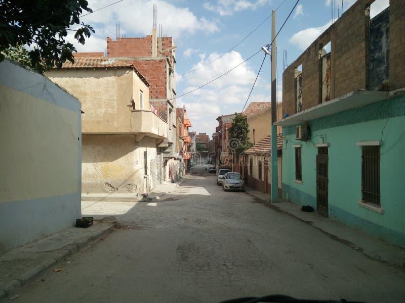 Rua árabe fotografia de stock