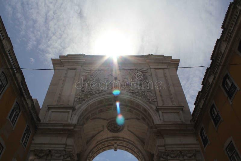Rua agusta royalty free stock images