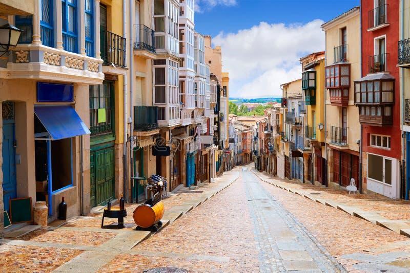 Rua Balboraz de Zamora em Espanha Através de la Plata fotos de stock