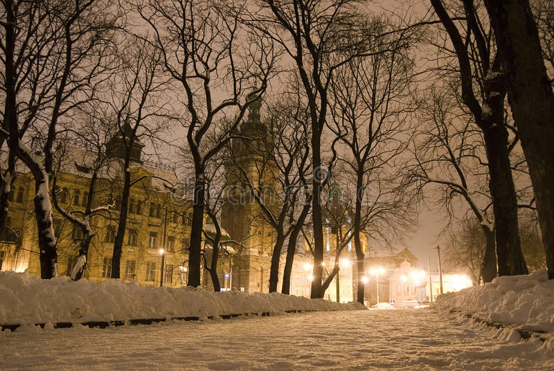 Download Rua da cidade velha foto de stock. Imagem de ucrânia - 16859528
