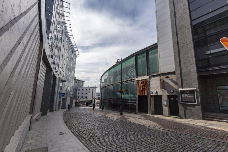 Rua de Aberdeen imagens de stock royalty free