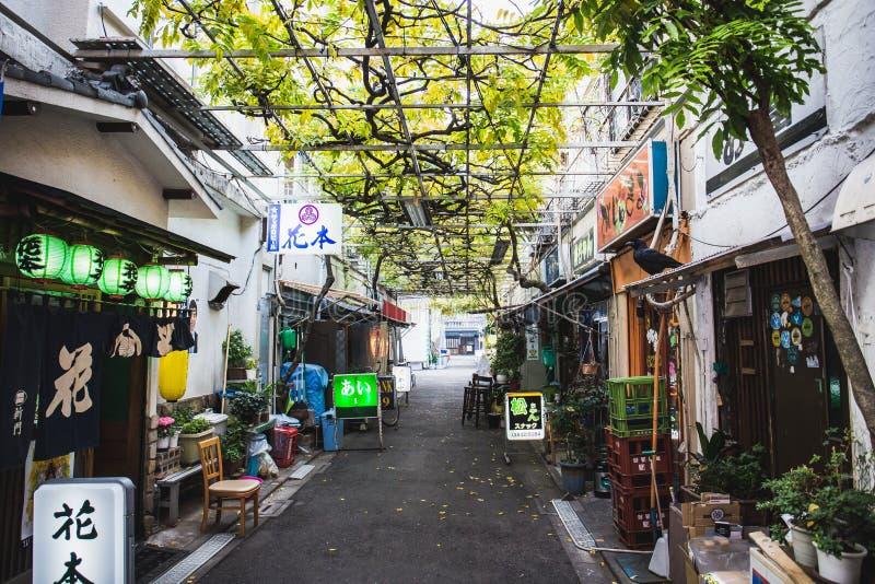 Rua de Asakusa imagem de stock
