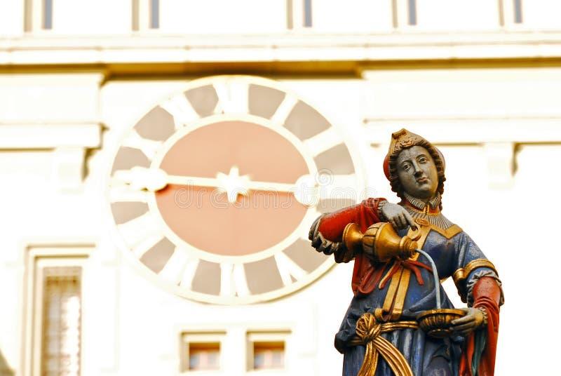 Rua de Berna foto de stock