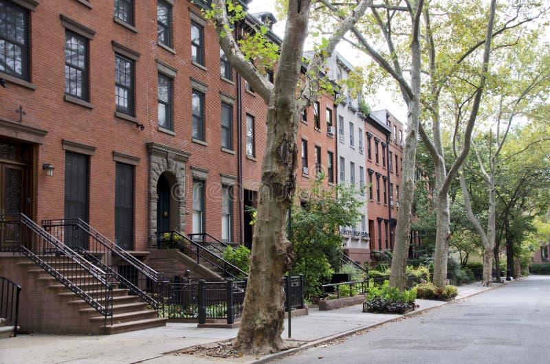 Rua de Brooklyn foto de stock royalty free