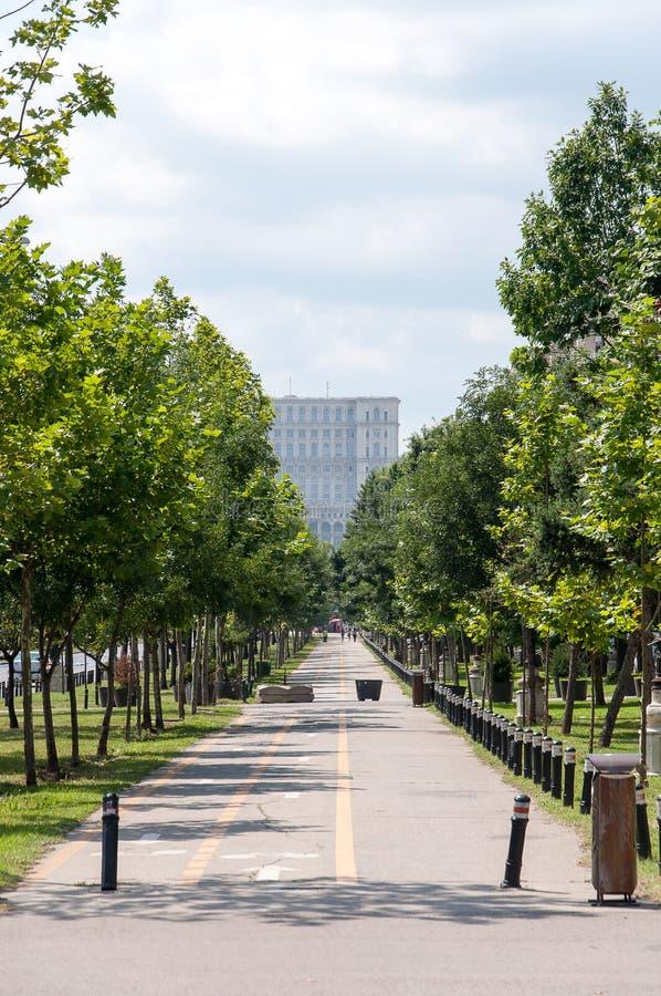 Rua de Bucareste fotos de stock