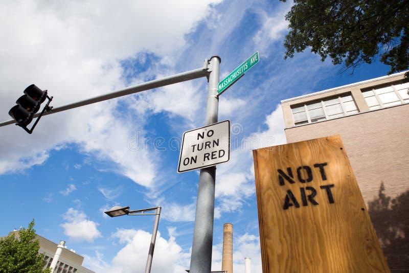 Rua de cambridge em Massachusetts imagens de stock