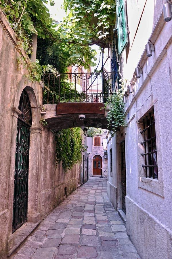 Rua de Corfu fotografia de stock royalty free