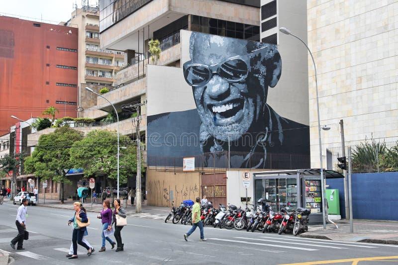 Rua de Curitiba fotos de stock royalty free