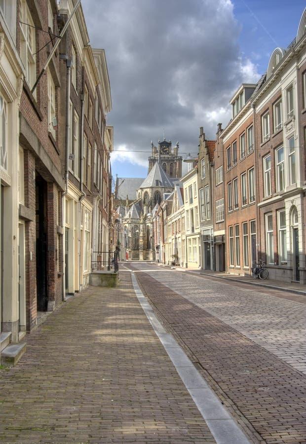 Rua de Dordrecht fotos de stock royalty free