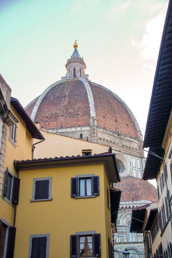Rua de Florença foto de stock