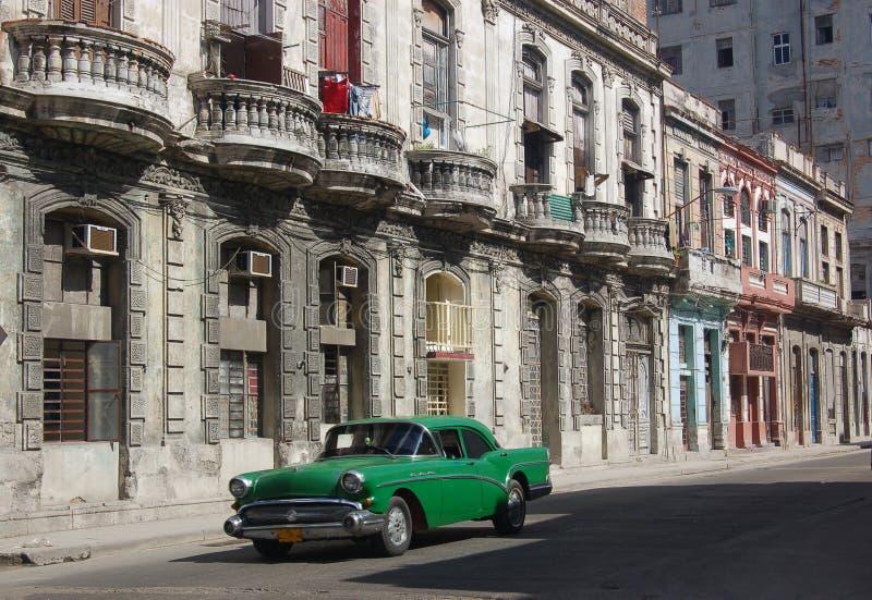 Rua de Havana imagens de stock