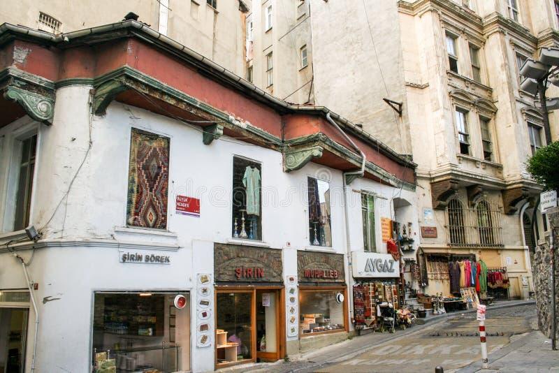 Rua de Istambul fotos de stock
