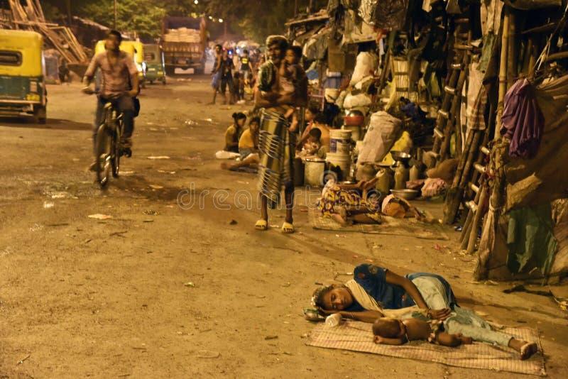 Rua de Kolkata foto de stock