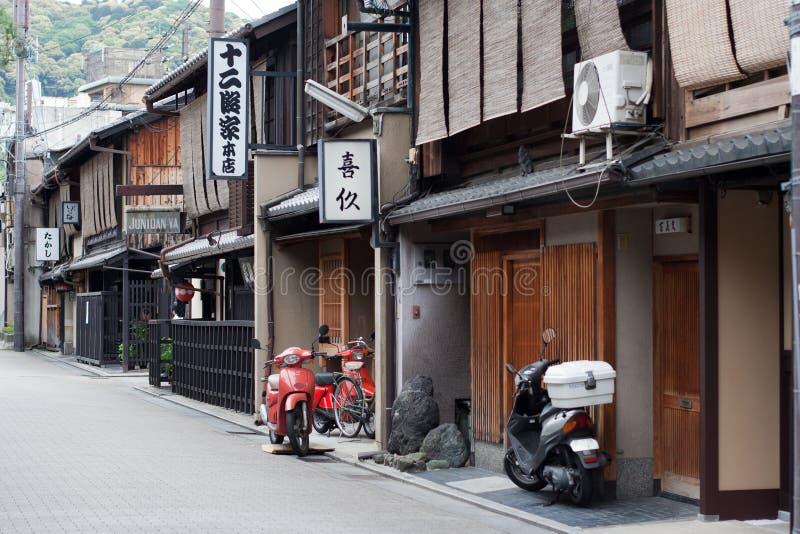 Rua de Kyoto foto de stock