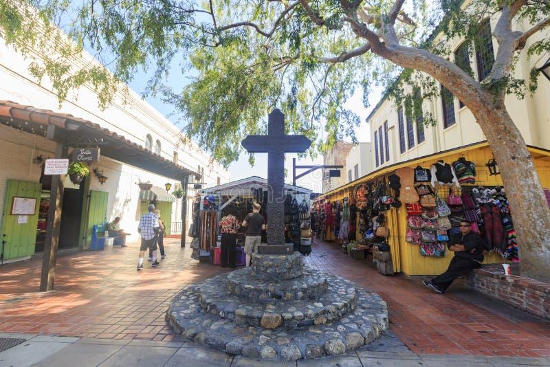 A rua de Olvera imagem de stock royalty free