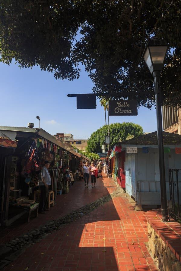 A rua de Olvera fotos de stock royalty free