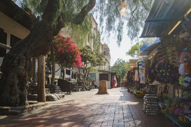 A rua de Olvera imagens de stock
