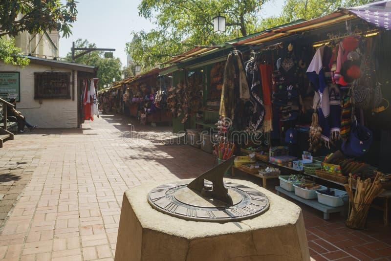 A rua de Olvera fotografia de stock royalty free
