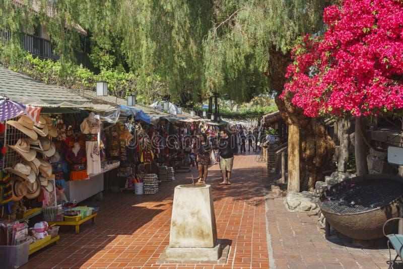 A rua de Olvera foto de stock royalty free