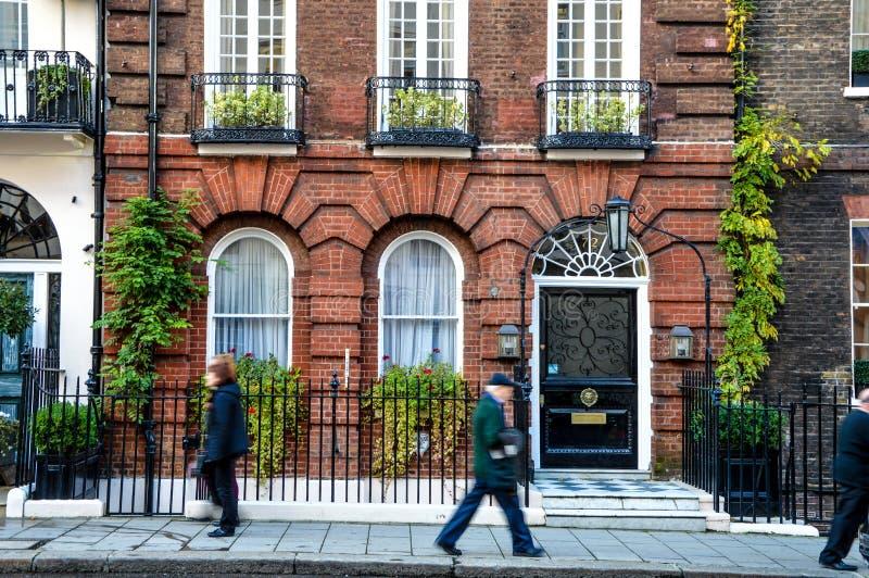 Rua de Oxford sem tráfego imagens de stock royalty free