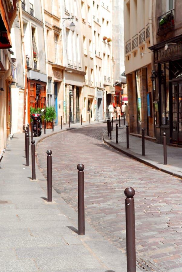 Rua de Paris fotografia de stock