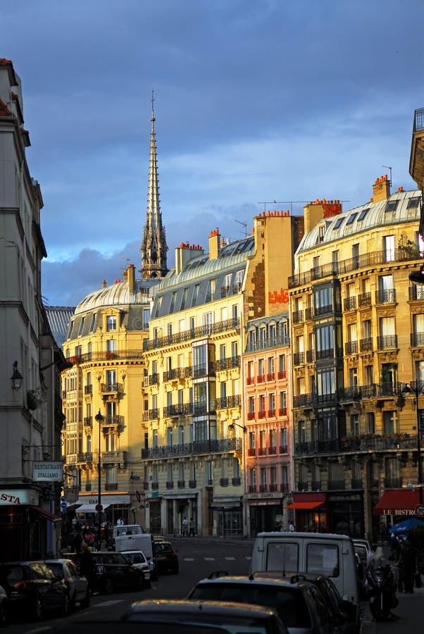 Rua de Paris foto de stock royalty free