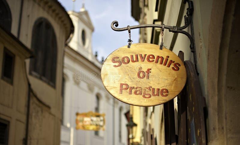 Rua de Praga fotografia de stock royalty free
