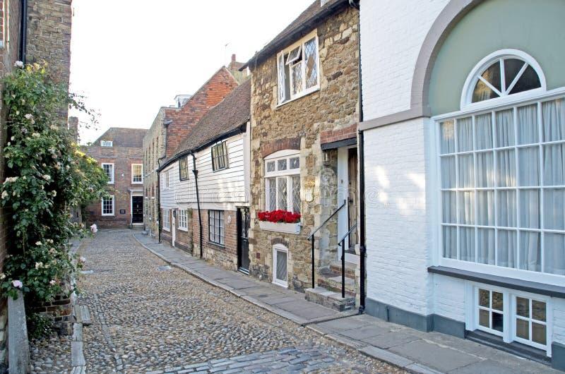 Rua de Rye foto de stock royalty free