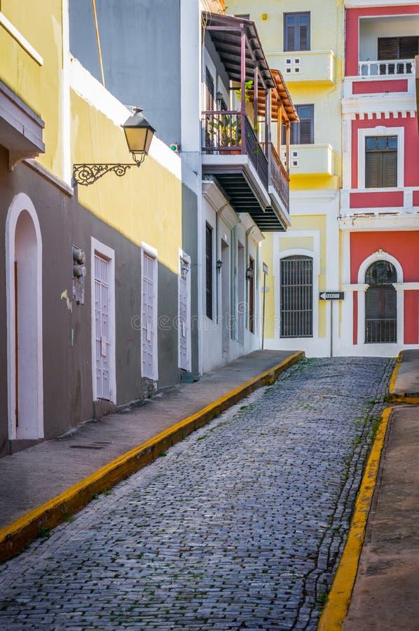 Rua de San Juan fotografia de stock