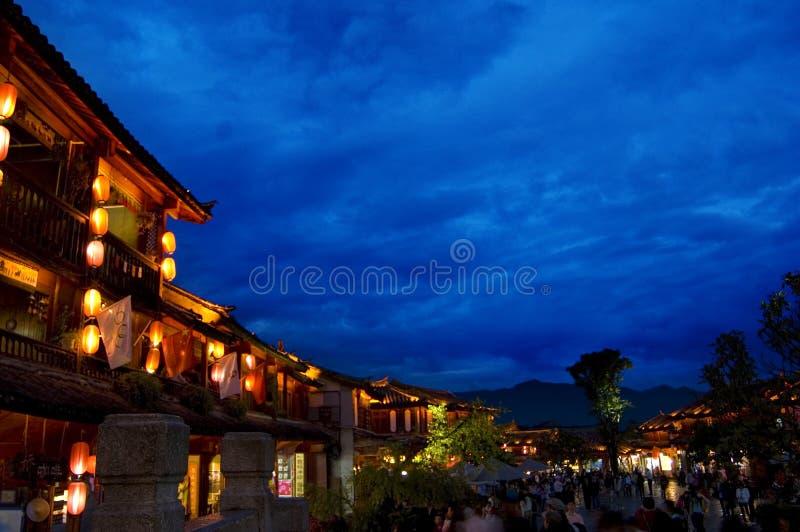 Rua de Sifang imagem de stock royalty free