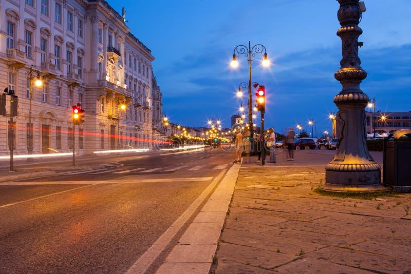 Rua de Trieste imagem de stock royalty free